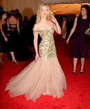 Scarlett Johansson Makes a Super Appearance in D&G at the Met Gala