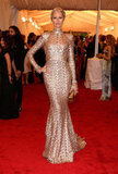 Karolina Kurkova sparkled in a Rachel Zoe dress for the Met Gala.