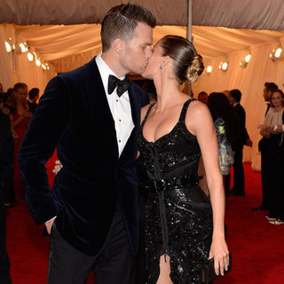 Gisele Bundchen and Tom Brady Met Gala Pictures 2012