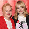 Emma Stone Talking About Her Mom at Revlon Walk Video