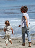 Halle Berry and Olivier Martinez Hit the Beach With Nahla