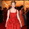 Emma Stone Met Gala Red Carpet Pictures 2012