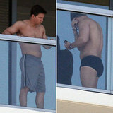 Mark Wahlberg Goes Shirtless in Boxer Briefs For a Miami Afternoon