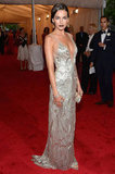 Camilla Belle in Ralph Lauren.