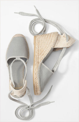 These Vidorreta espadrilles are a cult favorite; the neutral gray hue is perfect for pairing with just about anything.  Vidorreta Ankle-Tie Espadrilles ($50, originally $99)