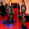 See Beyonce's Sexy Sheer Givenchy Couture Gown from All Angles on the 2012 Met Gala Red Carpet!
