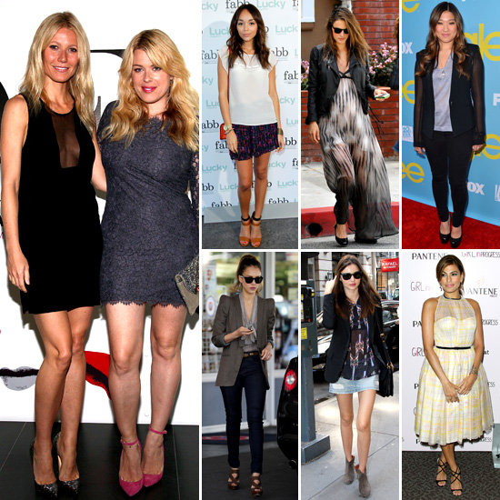 7 Days, 7 Ways: How Celebs Show Off the Sheer Trend
