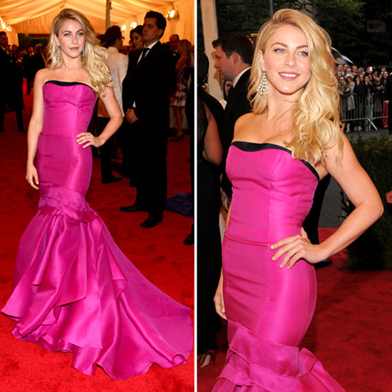Julianne Hough at Met Gala 2012