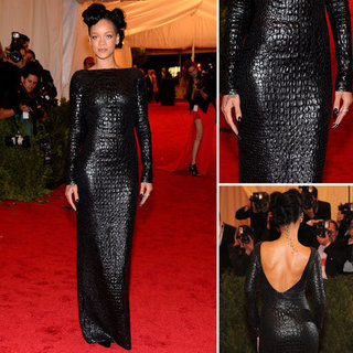 Rihanna at Met Gala 2012
