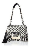 Finish off any warm-weather look with this wild tribal-infused statement bag. Diane von Furstenberg Zebra Harper Bag ($495, originally $825)