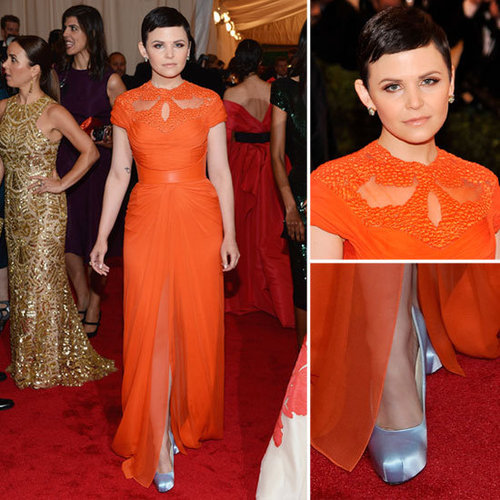 Ginnifer Goodwin at Met Gala 2012