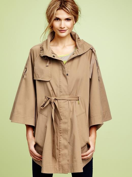 This cute khaki caped jacket is just what you need for those breezier Spring nights. Gap Belted Cape Jacket ($80, originally $128)
