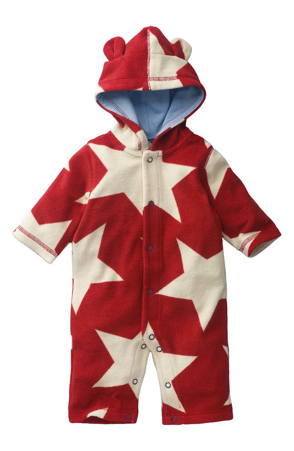 Mini Boden Hooded Romper ($36)