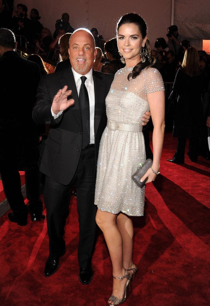 Billy Joel and Katie Lee Joel in 2008