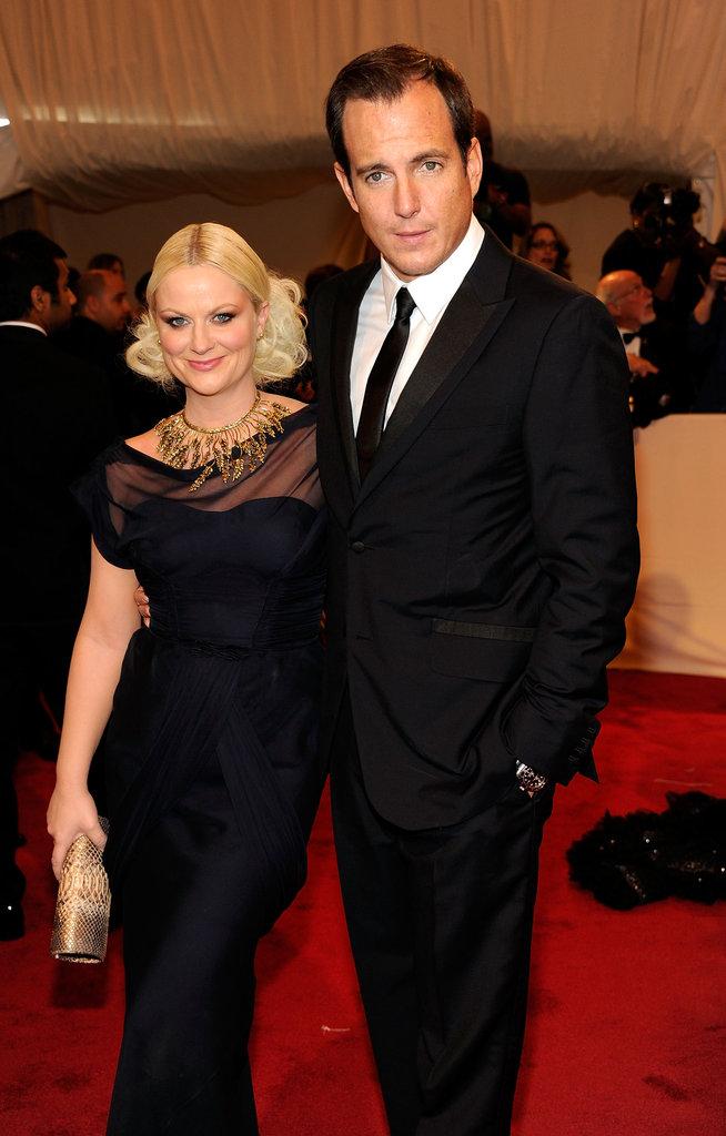 Amy Poehler and Will Arnett in 2011