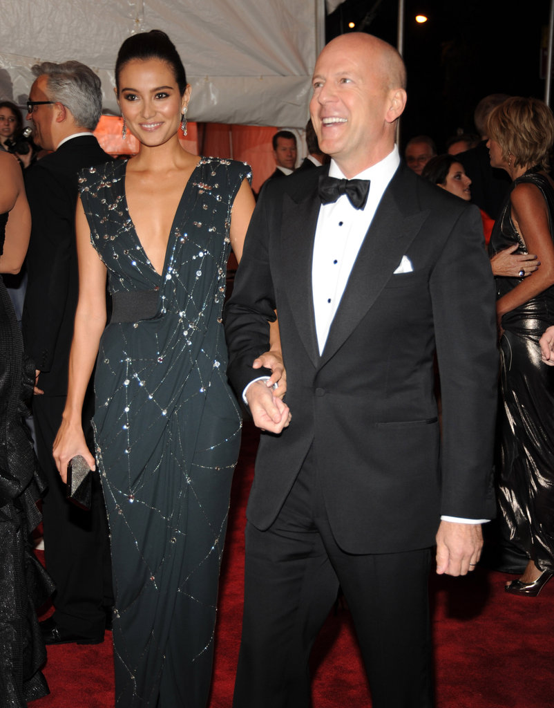 Emma Hemming and Bruce Willis in 2009