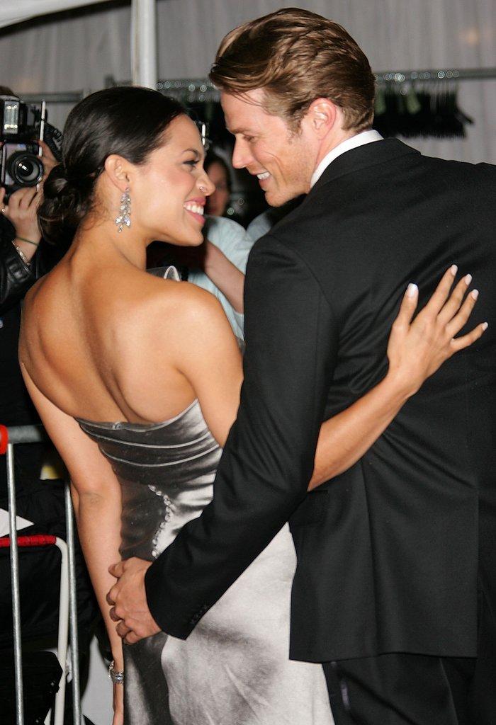 Rosario Dawson and Jason Lewis in 2006