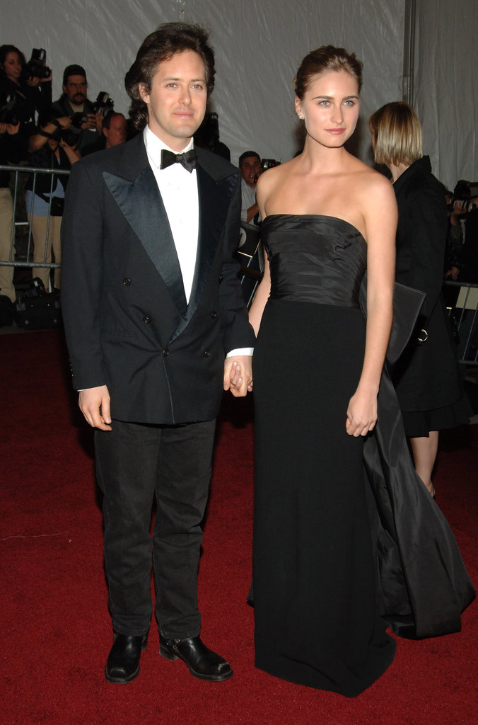 David Lauren and Lauren Bush in 2007