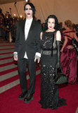 Marilyn Manson and Dita Von Teese in 2006