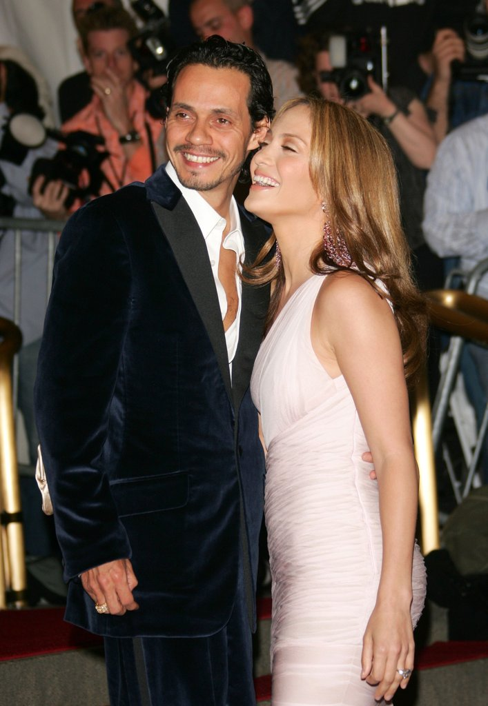 Marc Anthony and Jennifer Lopez in 2006