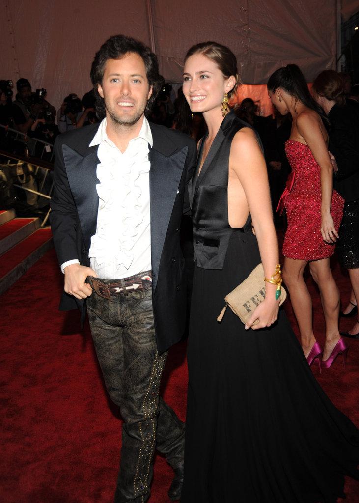 David Lauren and Lauren Bush in 2009