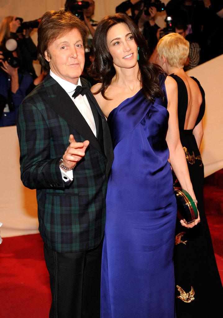 Paul McCartney and Nancy Shevell in 2011