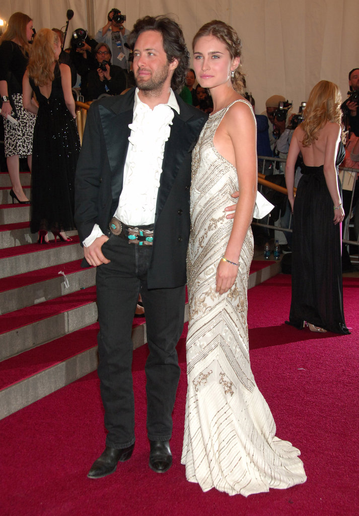 David Lauren and Lauren Bush in 2008
