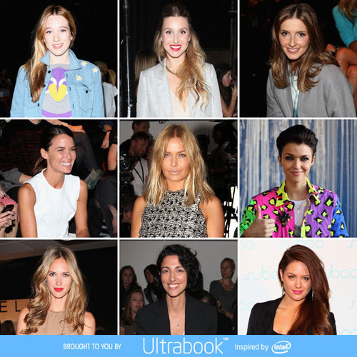 Front Row Celebrity Style Pictures at 2012 MBFWA Australian Fashion Week