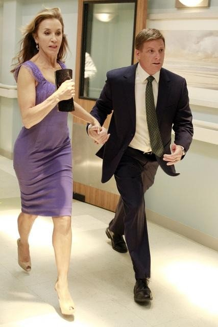 Felicity Huffman as Lynette and Doug Savant as Tom on Desperate Housewives. Photo courtesy of ABC