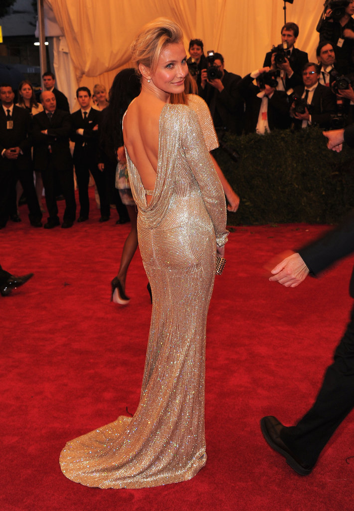 Cameron Diaz showed off her figure in a Stella McCartney gown.