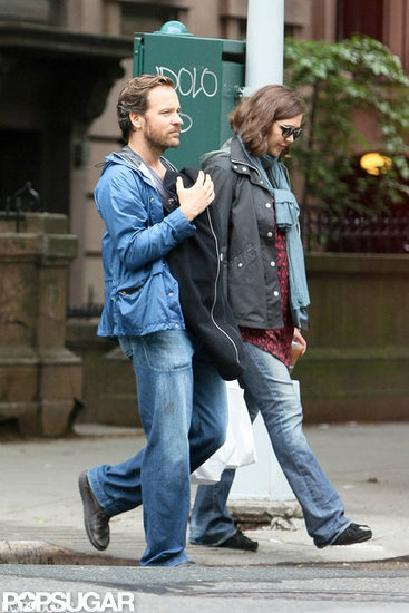 Peter Sarsgaard became a second-time dad to baby girl Gloria with Maggie Gyllenhaal in April 2012.