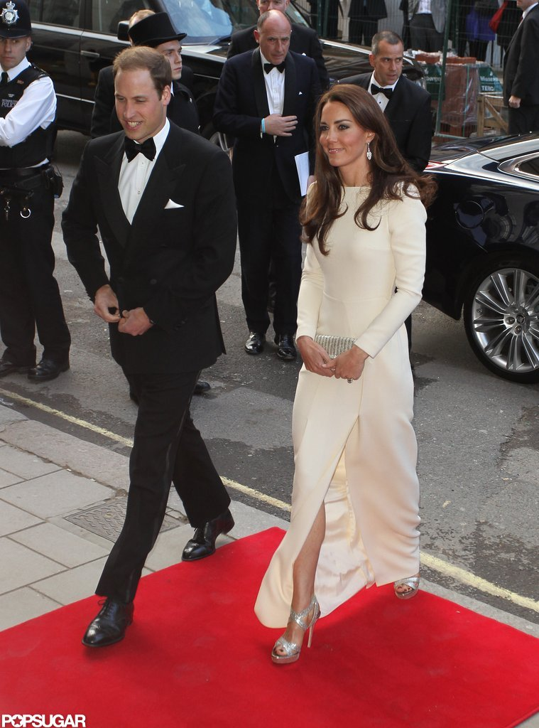 Kate Middleton and Prince William arrived at Claridge's in London for a date night out.