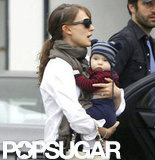 Natalie Portman joined the mommy club when Aleph was born in June 2011.