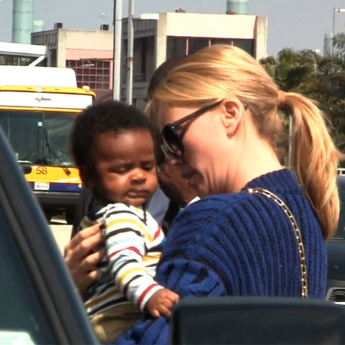 Charlize Theron Baby (Video)