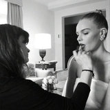 Celebrity Twitter and Instagram Behind the Scenes Pictures From 2012 Met Gala