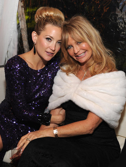 Kate Hudson and her gorgeous mum, Goldie Hawn, posed together at the White House Correspondents' Dinner in 2012.
