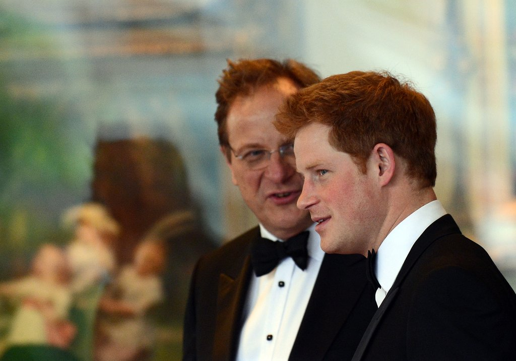 Prince Harry was in Washington DC to attend a gala hosted by the Atlantic Council where he accepted the Distinguished Humanitarian Leadership Award.