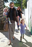 Nicole Kidman took her daughters, Sunday Rose and Faith, on a playdate in Hollywood in February 2012.