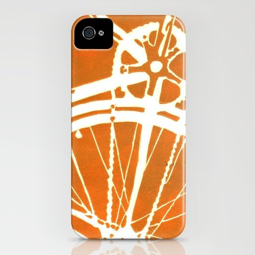 Society6 Orange Bike iPhone Case  ($35)