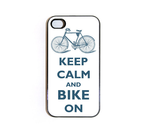 Keep Calm and Bike On iPhone 4 Case ($19)