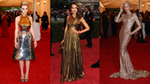 Shimmery Metallic Gowns Rule the Met Gala Red Carpet — See Who Wore the Trend!