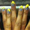 Alesha Dixon, Pixie Lott, Ashley Madekwe Yellow Nail Polish