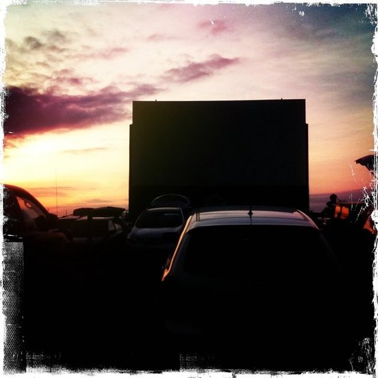 At the 5 Drive-In