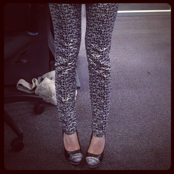FabSugar ed Ali scored some great sparkly pants from ASOS. She is officially the Sugar Pants Lady™.