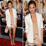 Chrissy Teigen Brings Back the Sequin Miniskirt — Shop 10 of Our Favorites, Including Hers!