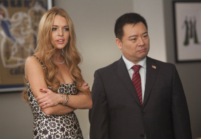 Lohan will be playing herself but Entourage's Rex Lee will play Martin. Photo courtesy of Fox