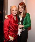 Emma Stone and her mum, Krista, attended the 2012 People's Choice Awards together at LA's Nokia Theatre in January 2012.