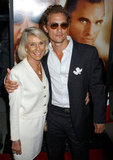 Matthew McConaughey posed for a photo with his mom, Kay, at the Two for the Money September 2005 premiere.