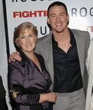 Channing Tatum attended the NYC premiere of Fighting with his mom, Glen, in April 2009.