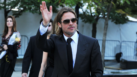 Video: Brad Pitt Makes History as Chanel No. 5's New Spokesman — See His Modeling Past!